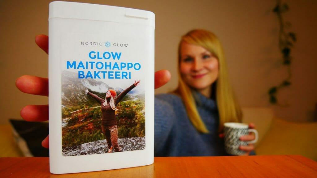 Maikki Marjaniemi Nordic Glow maitohappobakteeri