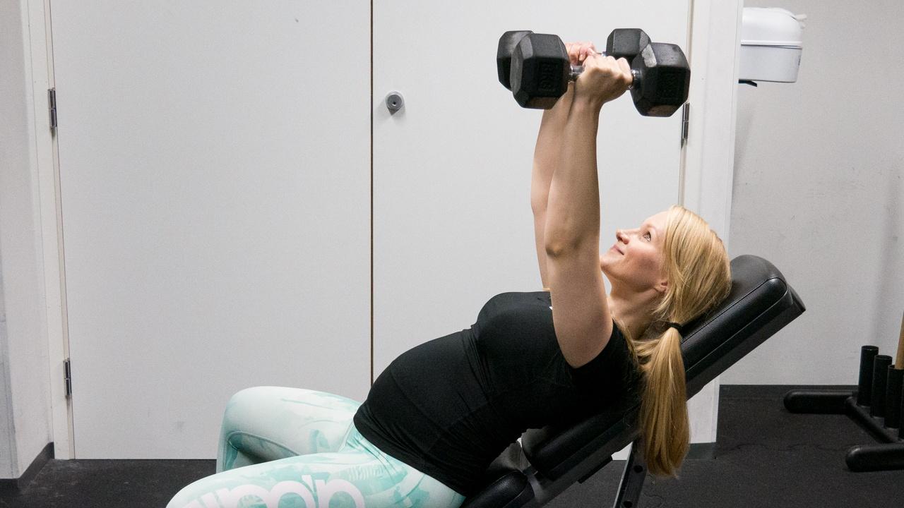 Kuntosali raskaana: raskausajan treeniohjelma