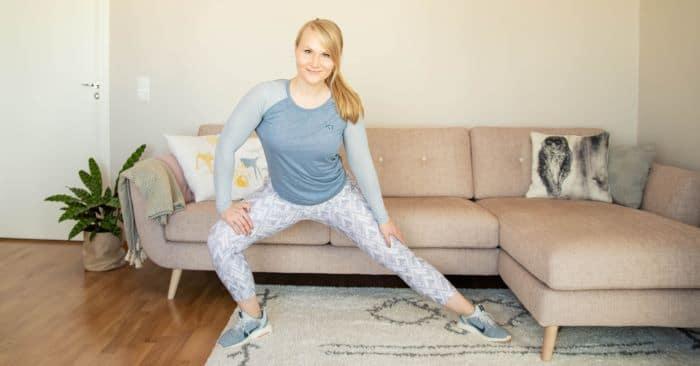 Lihaskuntotreeni kotona: 3 x näin saat oikeasti tuloksia